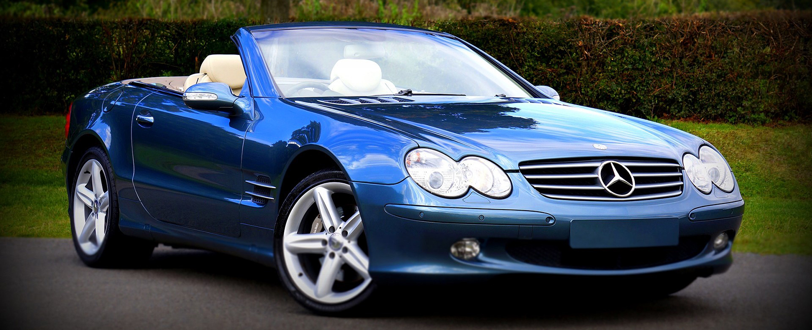 Mercedes Benz Blue